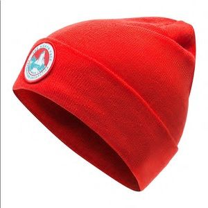 NWT The North Face Red Expedition Worker Beanie